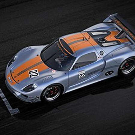 Porsche 918 RSR Coupe.