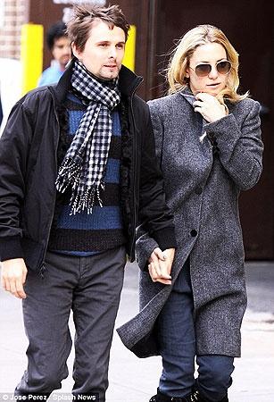 Кейт Хадсон и Мэтт Беллами.