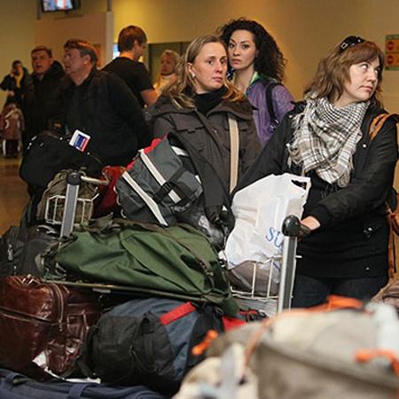 Люди еще не отошли от шока. Фото Марины Волосевич.
