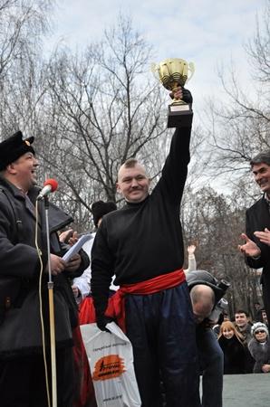 Кубок Святослава Храброго достался запорожским спасовцам. Фото Павла ВЕСЕЛКОВА.