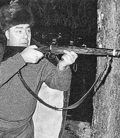 Охота была любимым увлечением генсека до самой кончины.