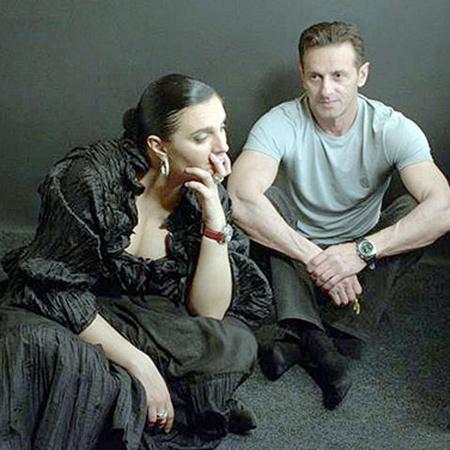 Ваенга со своим мужем Игорем. Они женаты почти 16 лет. Фото с сайта www.vaenga.ru.