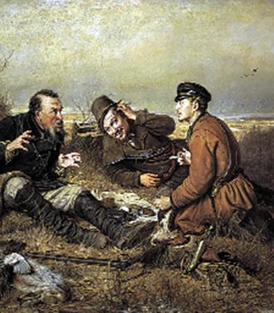 Охотники на привале. 1871 г.