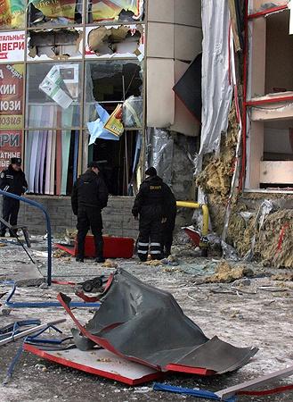 С утра в городе работали взрывотехники.