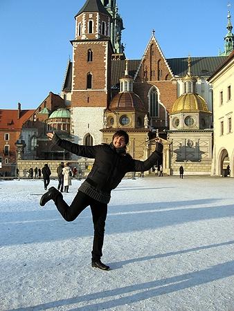 В Кракове Виталий радовался как ребенок.
