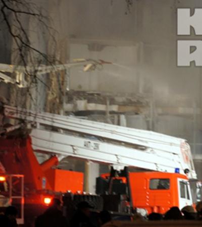 Пожар в ТЦ «Европа»: пострадали пять человек, один погиб. Фото: АГИШЕВ Азамат