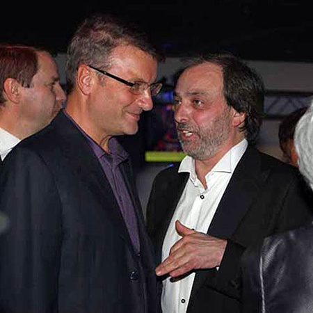 Герман Греф и Борис Краснов. Фото Милы Стриж.
