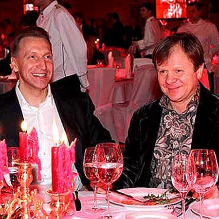 Игорь Шувалов и Игорь Бутман. Фото Милы Стриж.