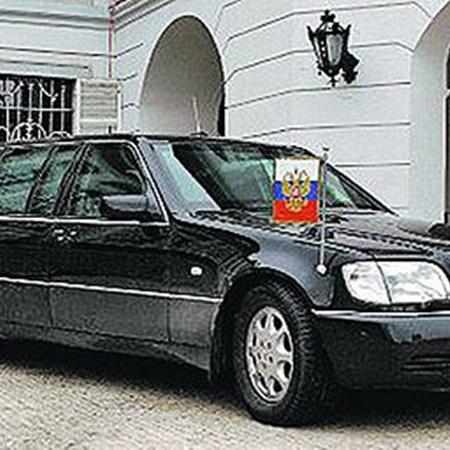 Президентский «Пульман» конца 90-х.