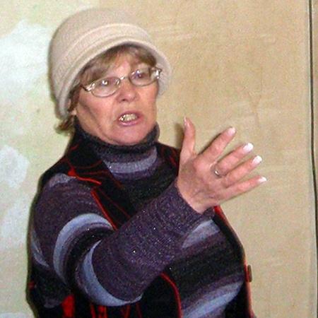 Надежда Ходаковская из 25-й квартиры: «Нам дали одну «трешку» на 9 человек».