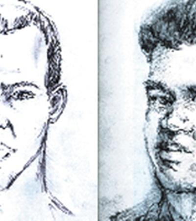 Мы попросили известного художника, пожелавшего остаться неизвестным, воссоздать лицо террориста. Он сделал портретный набросок карандашами (справа). Еще один «фоторобот» за максимально короткий срок - 40 минут - был составлен дизайнерской компанией «D3 Media group».
