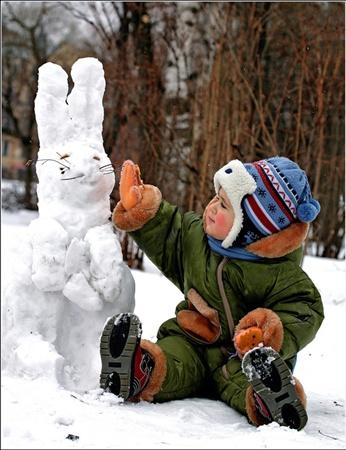 Есть, к счастью, горожане, для которых зима состоит из одних удовольствий.