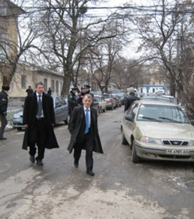 Мустафа Джемилев также написал поручительство за Гриценко. Фото Антонины Туровской