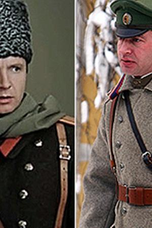 Андрей Мягков - 38 лет. Константин Хабенский - 39 лет.