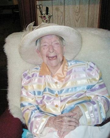 Юнис Сэнборн была очень жизнерадостной женщиной. Фото: dailymail.co.uk