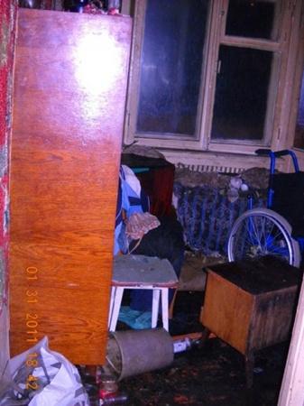 При пожаре погибло три человека. Фото: www.ilich.in.ua