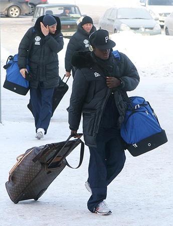 В Днепропетровск команда может вернуться уже пополненной.Фото Павла ДАЦКОВСКОГО.