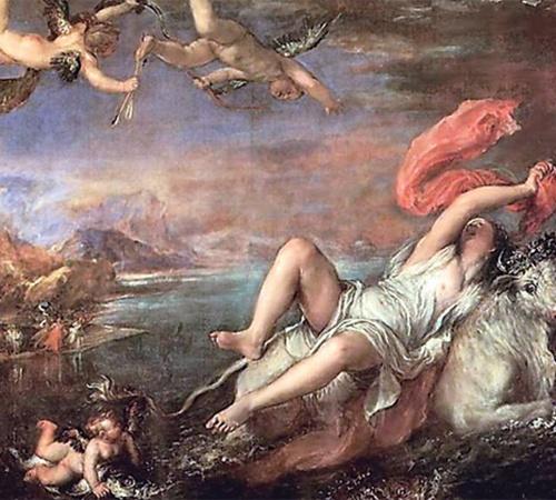 «Похищение Европы», 1559-1562 гг.