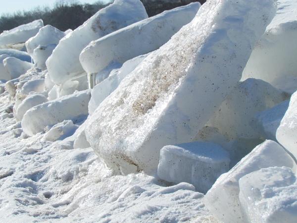 Царство льда.  Фото: Александр ИЛЬЧЕНКО.