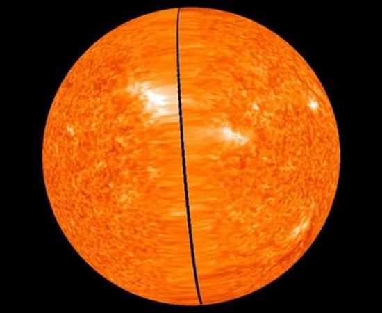 Поверхность Солнца в 3D формате. Фото NASA.