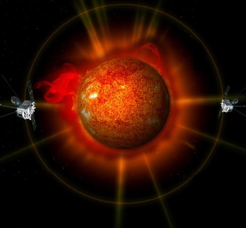 Зонды-близнецы сделавшие первые фотографии звезды целиком. Фото NASA.