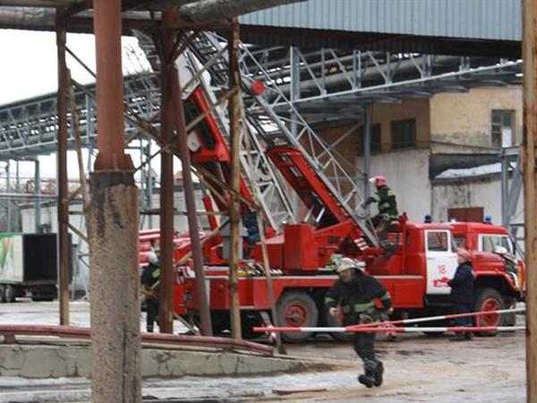 Как говорят спасатели, пожар начался в половине десятого утра.