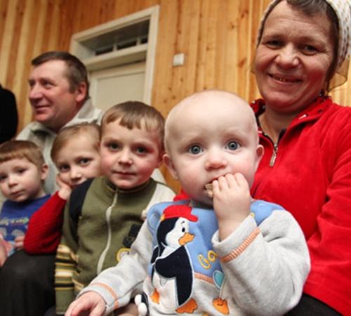 Для Елены и Виктора Ковалевичей счастье - только в их детях.