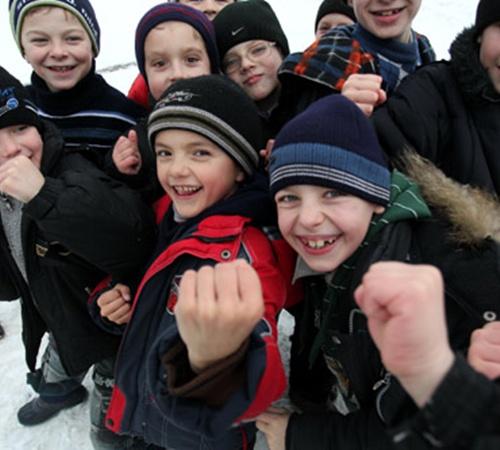 По количеству учеников школа в Глинном - рекордсмен среди сел. Здесь за партами сидят 700 детей.