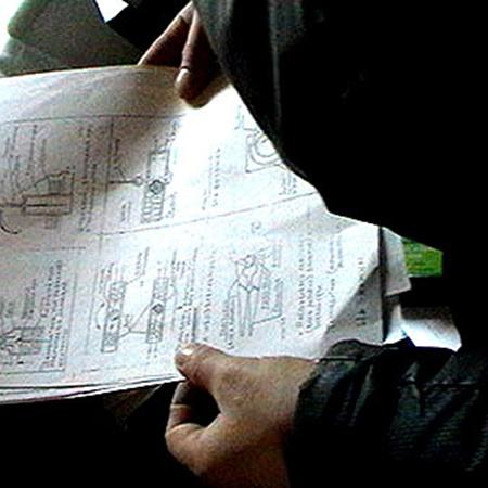 У бандитов дома хранились различного различного рода схемы. Фото пресс-службы МВД РБ.