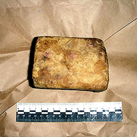 В арсенале преступников было взрывчатое вещество гексоген. Фото пресс-службы МВД РБ.