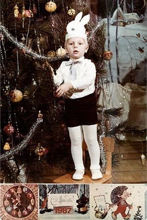 Победитель номинации «Ретро заяц» Андрей в далеком 1987 году.