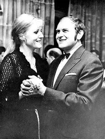 С мужем Збигнев-Антонием, единственным мужчиной ее жизни.