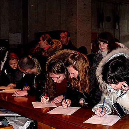Участники конкурса съехались из Феодосии, Красноперекопска, Евпатории, Джанкоя, Севастополя и даже Геническа.