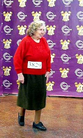 81-летняя жительница Симферополя Мая Вербицкая поразила жюри душевным исполнением песни