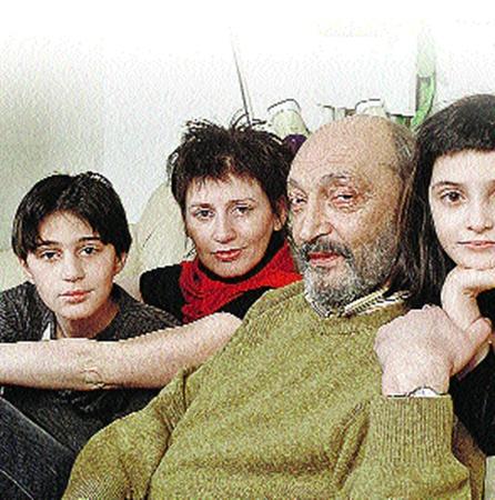Михаил Козаков с женой Анной и детьми Мишей и Зоей уезжал в Израиль еще 20 лет назад.