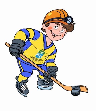 Талисманом Чемпионата мира по хоккею среди юниоров станет «добродушный донбасяк». Фото: ostro.