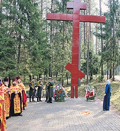 Весна 2010 года, мемориальный комплекс «Катынь». Церемония поминовения польских офицеров. Фото PHOTOXPRESS.