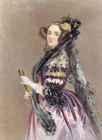 Трудно представить, что эта изящная леди - первый в мире программист Ада Лавлейс.