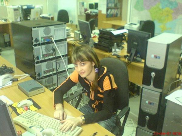 Аня Герман работает системным администратором уже 6 лет, но все еще не перестает удивлять окружающих своей профессией.
