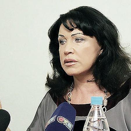 Надежда Бабкина поблагодарила журналистов за то, что не задали вопросов про ее личную жизнь. Фото Ксении Воронежцевой.