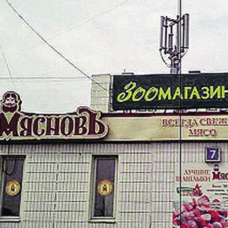 А вы любите хомячков? Нет? Вы их просто готовить не умеете! Но в этом магазине у станции метро «Домодедовская» вас всему научат. (Прислал О. Винокуров.)