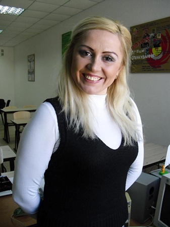 У Ольги Трактинской есть все шансы на победу во всеукраинском конкурсе. Фото автора.
