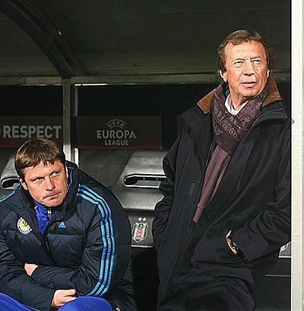 Семин (справа) - Олегу Лужному: - Хорошо поработали на сборах - вот и результат.