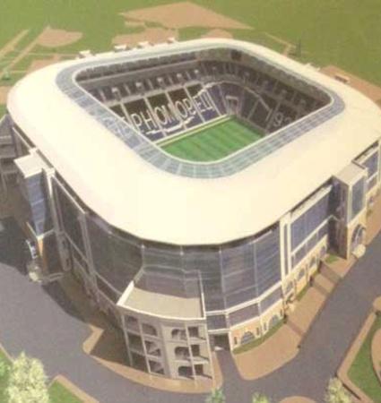 Вообще требования УЕФА сильно повлияли на проект стадиона.