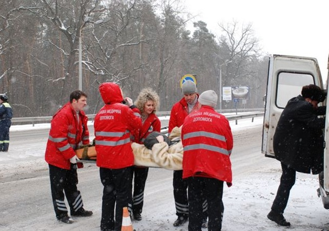 В больницах оказались 10 человек. Фото Николая Шинкаря