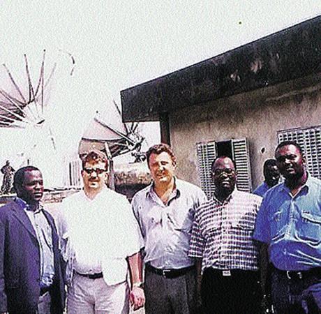 Вот в такой компании Виктор Бут (второй слева) «делал» новых президентов африканских стран.