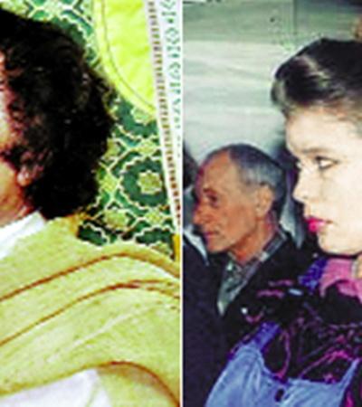 Покидая свою страну, Каддафи взял с собой только Галину иличную охрану.