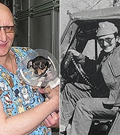 Павел Пульняшенко отслужил 12 лет и только потом понял, что его призвание - ветеринария.