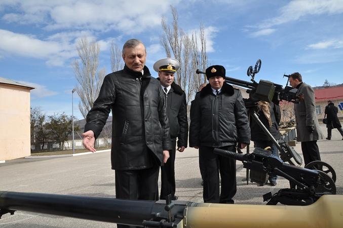 В день праздника Крымский премъер посетил Войска береговой обороны ВМСУ