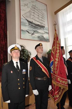 Военнослужащие войск береговой обороны празднуют День защитника Отечества